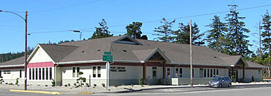 Photo of new Port Orford Library